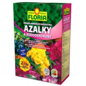 Organo - minerální hnojivo pro AZALKY a RODODENDRONY, Floria, balení 2.5 kg
