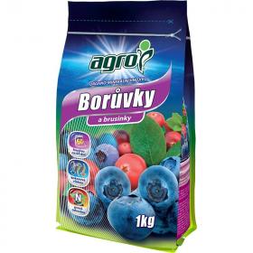 Organo - minerální hnojivo pro BORŮVKY a BRUSINKY, Agro, balení 1 kg