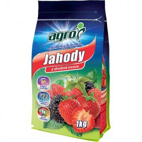 Organo - minerální hnojivo pro JAHODY a DROBNÉ OVOCE, Agro, balení 1 kg