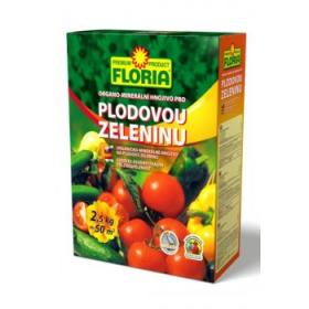 Organo - minerální hnojivo pro PLODOVOU ZELENINU, Floria, balení 2.5 kg