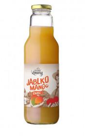 Ovocný mošt, Moštárna Louny Jablko Mango Exotic, 750 ml