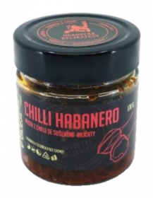 Pasta z červených chilli papriček Habanero, Hradecké delikatesy, 100 g