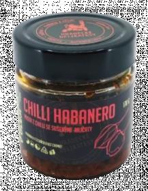 Pasta z červených chilli papriček Habanero, Hradecké delikatesy, 170 g