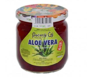 Pečený čaj, Nature Notea Aloe Vera se zázvorem, rodinné balení, 430 ml