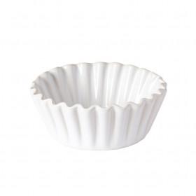 Pečící forma na muffin, BAKEWARE, keramická, průměr 13 cm, bílá
