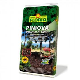 Piniová dekorační kůra Floria, balení 45 l