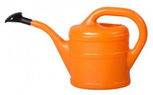 Plastová konev s kropítkem, Geli, objem 2 l, oranžová
