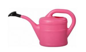 Plastová konev s kropítkem, Geli, objem 2 l, růžová