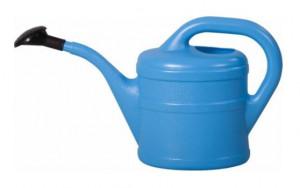 Plastová konev s kropítkem, Geli, objem 2 l, světle modrá