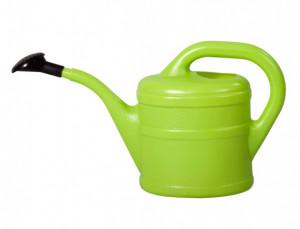 Plastová konev s kropítkem, Geli, objem 2 l, světle zelená