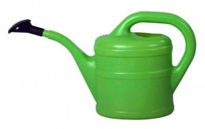 Plastová konev s kropítkem, Geli, objem 2 l, zelená