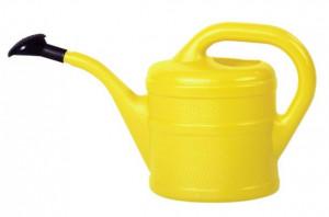 Plastová konev s kropítkem, Geli, objem 2 l, žlutá