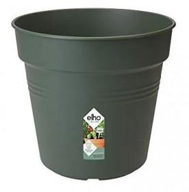 Plastový květináč elho GREEN BASICS, průměr 13 cm, tmavě zelený