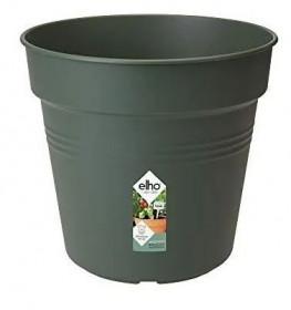 Plastový květináč elho GREEN BASICS, průměr 15 cm, tmavě zelený