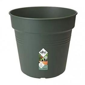 Plastový květináč elho GREEN BASICS, průměr 17 cm, tmavě zelený
