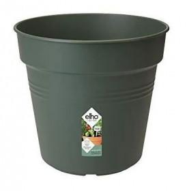 Plastový květináč elho GREEN BASICS, průměr 19 cm, tmavě zelený