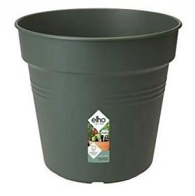 Plastový květináč elho GREEN BASICS, průměr 21 cm, tmavě zelený