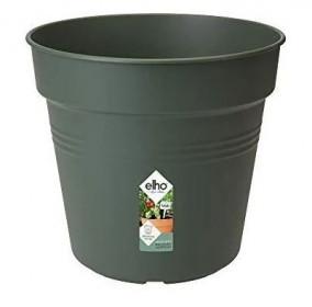 Plastový květináč elho GREEN BASICS, průměr 24 cm, tmavě zelený