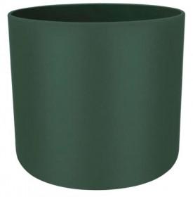 Plastový obal na květináč pro orchidej elho B.FOR SOFT, průměr 18 cm, tmavě zelený