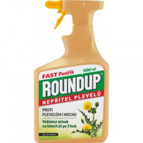 Postřikový likvidátor plevele a mechu, ROUNDUP FAST, balení 1 l