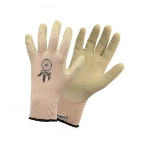 Pracovní rukavice Rostaing BOHO, dámské, velikost 6, bambusové vlákno