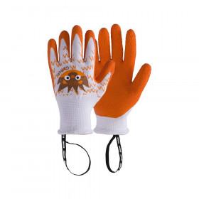 Pracovní rukavice Rostaing GASTON, dětské, věk 6 - 8 let, oranžové