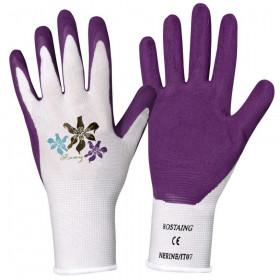 Pracovní rukavice Rostaing NERINE, dámské, velikost 7, fialové