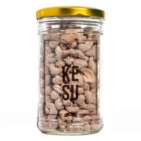 Pražené ořechy, Šufan Kešu solené, dóza sklo, 500 g