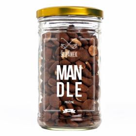 Pražené ořechy, Šufan Mandle, dóza sklo, 500 g