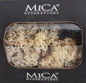 Preparovaný lišejník, Mica, 50 g, béžový