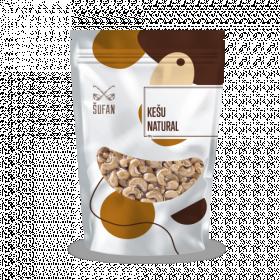 Přírodní ořechy, Šufan Kešu Natural, sáček, 200 g