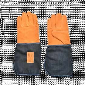 Prodloužené zahradní rukavice Esschert Design DENIM, pánské, velikost UNI, tmavě modré