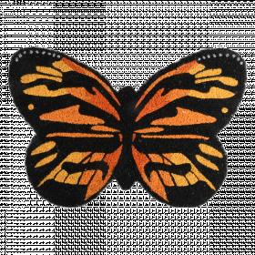 Rohožka s motivem motýla, Esschert Design, kokosové vlákno, délka 60 cm