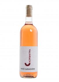 Růžové polosuché víno, Vinařství Josef Valihrach Rosé Carmenére 2019 zemské, 12,5% obj., 0.75 l
