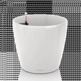 Samozavlažovací květináč Lechuza CLASSICO 70, bílý
