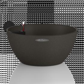 Samozavlažovací květináč Lechuza CUBETO Stone 30, komplet set, černý