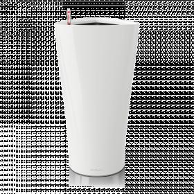 Samozavlažovací květináč Lechuza DELTA 30, komplet set, bílý