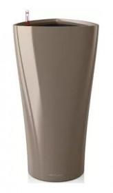Samozavlažovací květináč Lechuza DELTA 30, komplet set, taupe