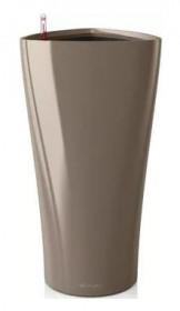 Samozavlažovací květináč Lechuza DELTA 40, komplet set, taupe
