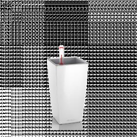Samozavlažovací květináč Lechuza MINI CUBI 9, komplet set, bílý