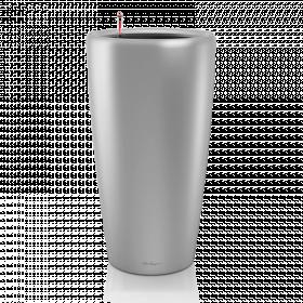 Samozavlažovací květináč Lechuza RONDO 32, komplet set, stříbrný