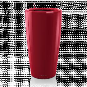 Samozavlažovací květináč Lechuza RONDO 40, komplet set, červený