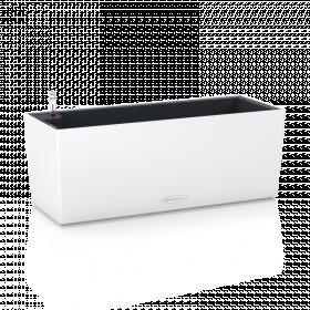 Samozavlažovací truhlík Lechuza BALCONERA hladký 50 - komplet set, bílý