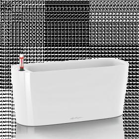 Samozavlažovací truhlík Lechuza DELTA 20, komplet set, bílý
