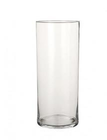 Skleněná váza Mica CARLY, rozměr 19 x 48 cm, čirá