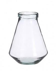 Skleněná váza Mica JIVE, průměr 18 cm, čirá