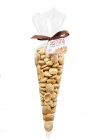 Solené mandle, Hustopečská mandlárna, kornout, balení 120 g