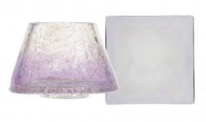 Stínítko a talíř, malý, Yankee Candle Savoy Purple