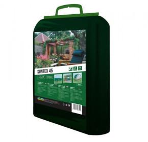 Stínovka s oky pro upevnění, Nohel Garden SUNTEX 45%, rozměr 1.5 x 5 m, zelená