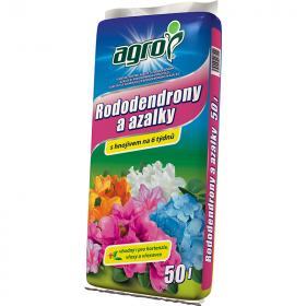 Substrát Agro pro RODODENDRONY a AZALKY, balení 50 l
